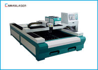 চীন Fiber Laser Metal Cutting Machine 1500*3000 mm Water Cooling 500w  1000w কোম্পানির