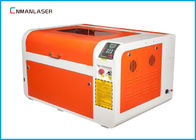 CO2 Wooden Crystal Laser Engraving Cutting Machine With 600*400mm Water Cooling