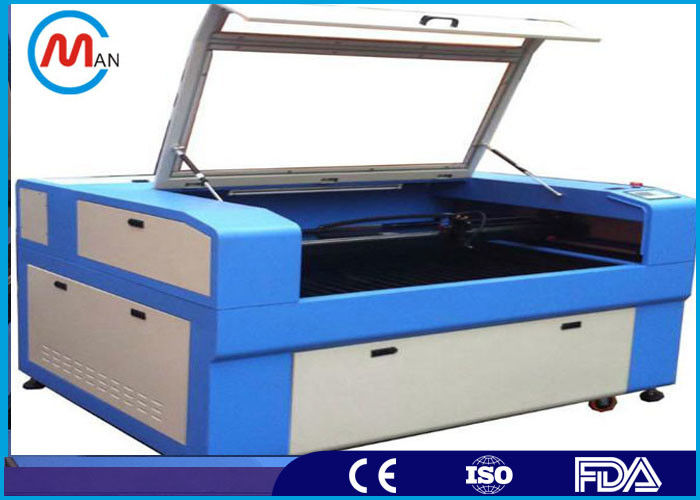 Portable 150W CO2 Laser Cutting Machine Ruida LCD For Laser Stamp Engraving