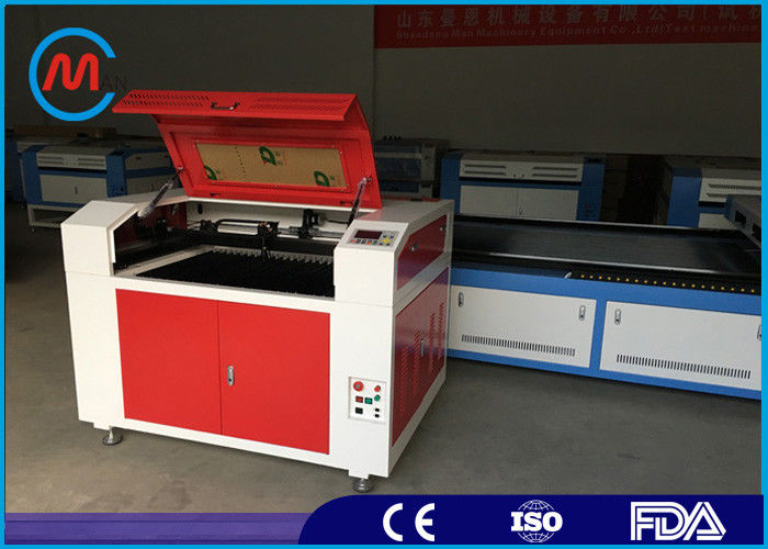 40W Co2 Wood Laser Cutting Machine , Portable Laser Cutting And Engraving Equipment