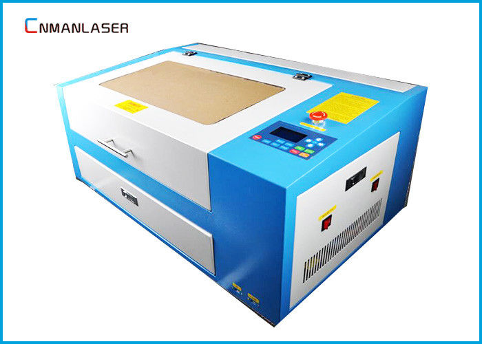 60W Mini Cnc Laser Engraving Cutting Machine For Photo Frame Dust Free