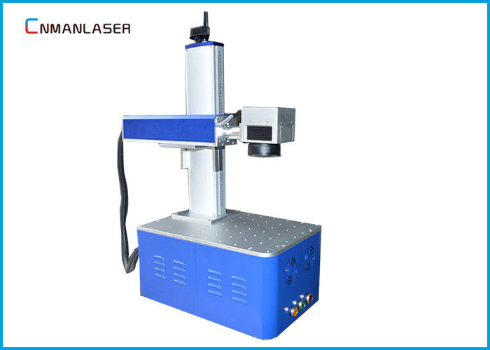 Smart Fiber Laser Marking Machine For Auto Parts Electronic Components