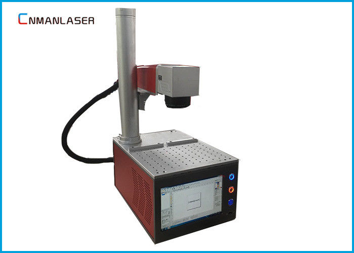 Max 20W 1064nm Small Laser Marking Machine For Metal Steel Gold Silver Cooper