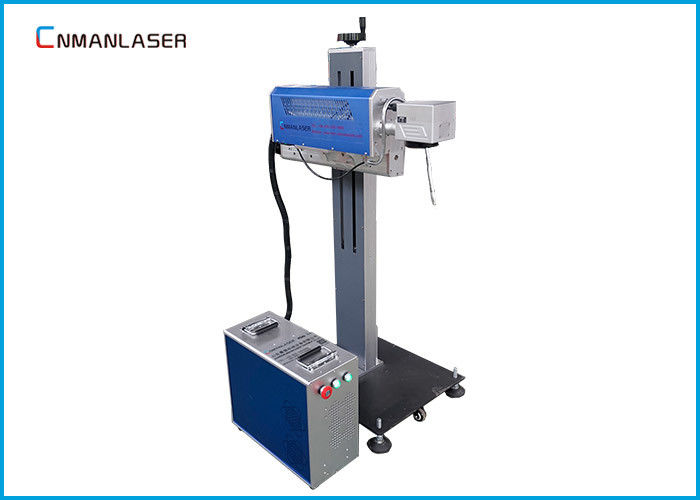 CO2 RF Tube Flying Laser Engraving Marking Machine For Cosmetic Medicine